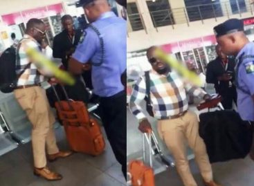 Nollywood actor, Jim Iyke, arrested at airport for slapping security man