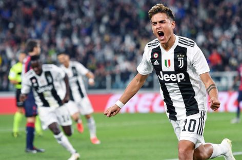 Juventus beat Bologna 2-0, record best start in 88 years