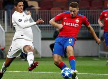 Real Madrid suffer shock loss to CSKA Moscow