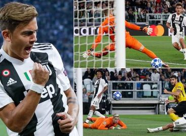 Champions League: Dybala hits hat-trick as Juventus thrash Young Boys