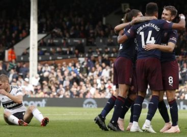 Arsenal thrash Fulham to record 9th straight victory