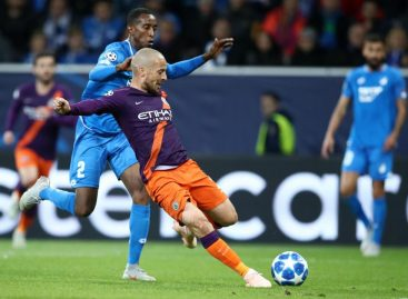 Champions League: Silva's late strike gives City first victory