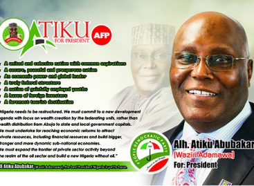 As 2019 campaign begins, Atiku supporters urge Nigerians not to reinforce failure