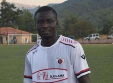 Nigerian striker dies of heart attack in Turkey