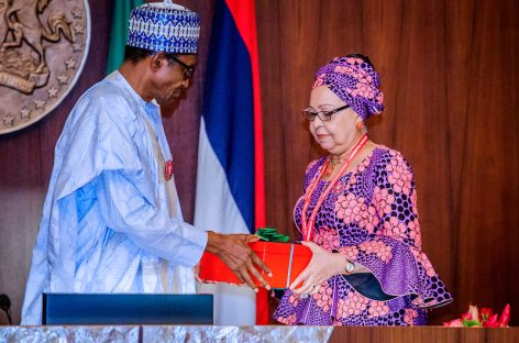Buhari receives report of Tripartite Committee on Review of National Minimum Wage