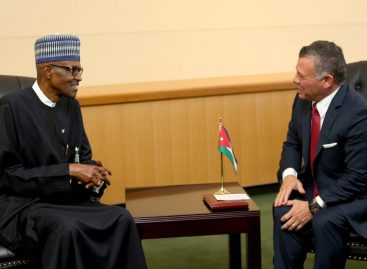 Jordan's King Abdullah condoles with Buhari over military losses