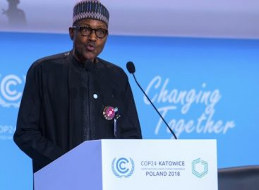 No country can confront climate change alone, Buhari says at UN summit in Poland