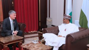 President Buhari receives Amb of Argentina, HC of Canada and United Kingdom. Jan 14, 2019