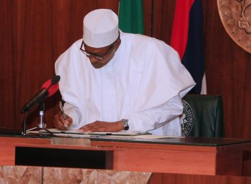 Buhari signs executive order 007 on road infrastructure, tax credit scheme