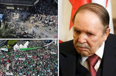 Finally, Algerian President Bouteflika resigns