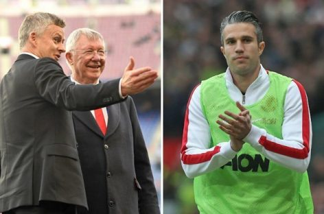 Solskjaer is the right man for the job, says Van Persie